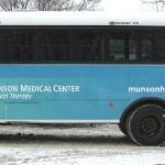 2nd Munson Medical Center Bus Ad on the BATA buses Traverse City, Michigan.