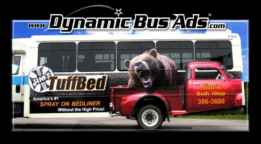 Dynamic Bus Ads Wade Promotions Llc